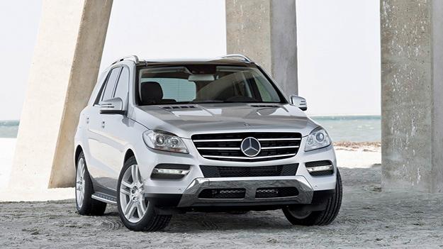 Mercedes-Benz M stat vorne