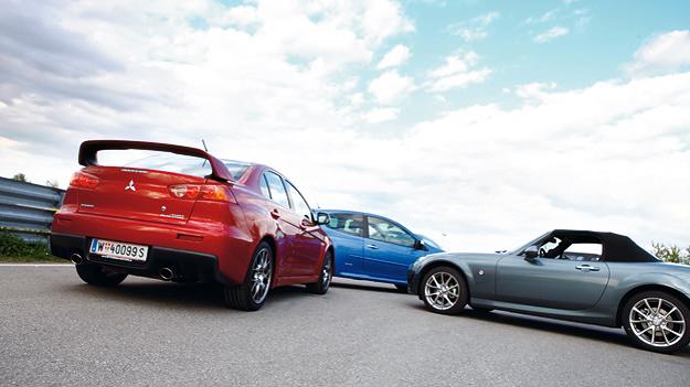Testbericht: Mitsubishi Lancer Evo