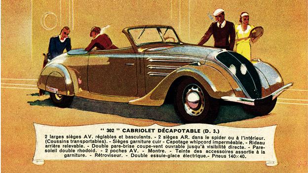 Das Jahr 1936 ZEitmaschine Peugeot 302