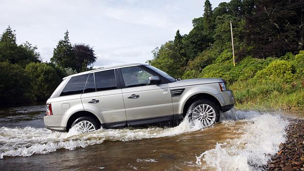 Range Rover Sport Exterieur Dynamisch Seite Offroad