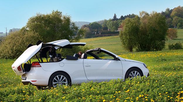 VW Eos 2,0 TDI BlueMotion DSG Exterieur Statisch Seite