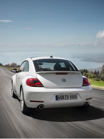 VW Beetle Exterieur Dynamisch Heck Deathly Hallows