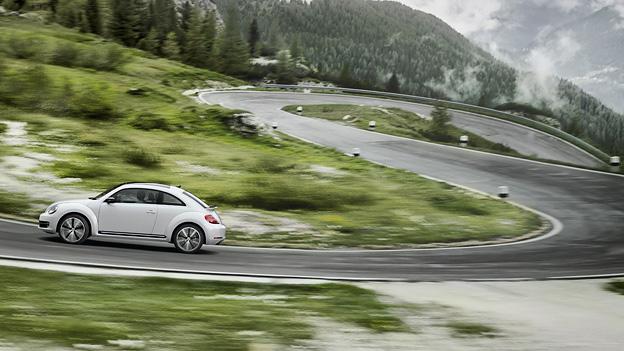 VW Beetle Exterieur Dynamisch Seite Tattoo