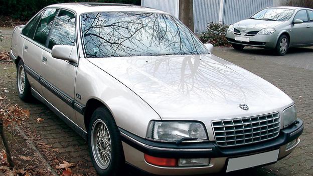 Opel Senator 1987 Zeitmaschine Lancia Delta Integrale