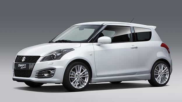 Suzuki Swift Sport Exterieur Statisch Front