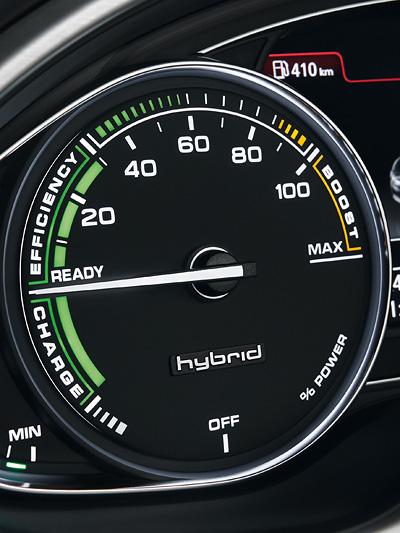 Audi A8 Hybrid Interieur