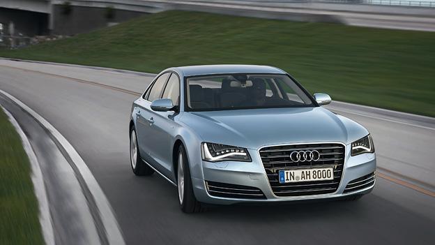 Audi A8 Hybrid Exterieur Dynamisch Front