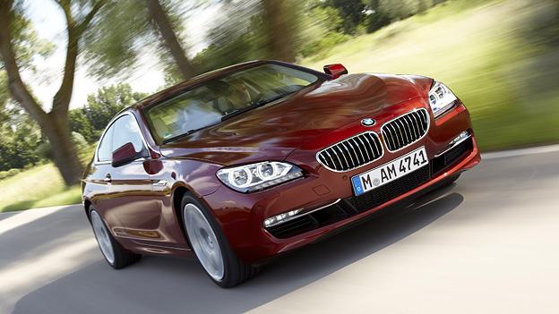 BMW 6er Coupé Exterieur Dynamisch Front