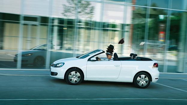 VW Golf Cabrio dyn links