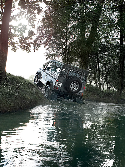 Land Rover Defender 2012 Exterieur Dynamisch Heck