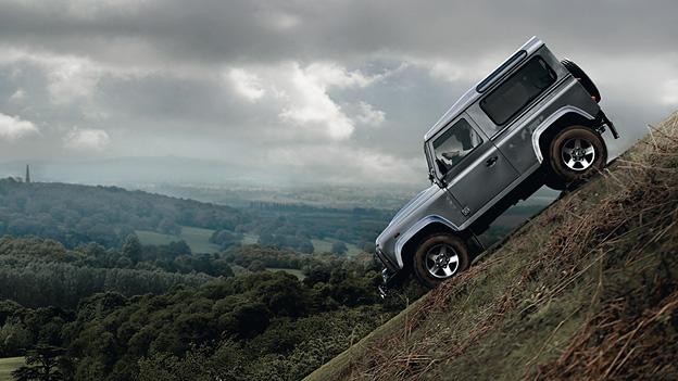 Land Rover Defender 2012 Exterieur Statisch Seite