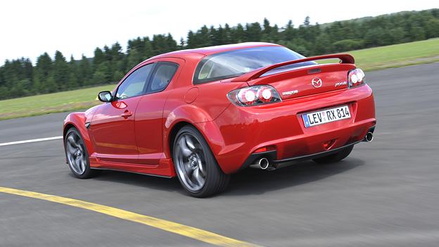 Mazda RX Exterieur Dynamisch Heck