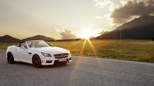Mercedes Benz SLK 55 AMG Exterieur
