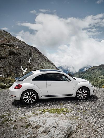 VW Beetle Exterieur Statisch Seite