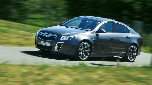 Opel Insignia OPC Exterieur Front Dynamisch