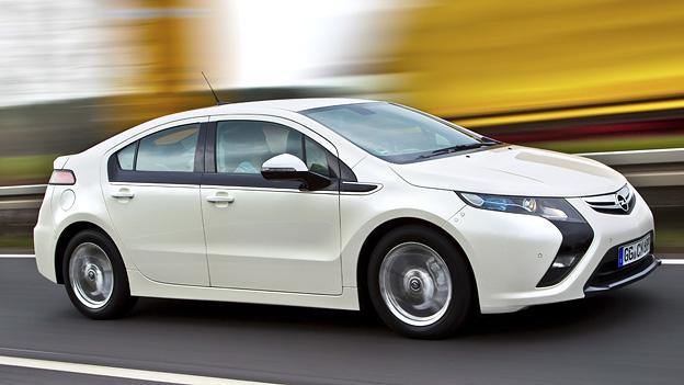 Opel Ampera Exterier Dynamisch Seite Front
