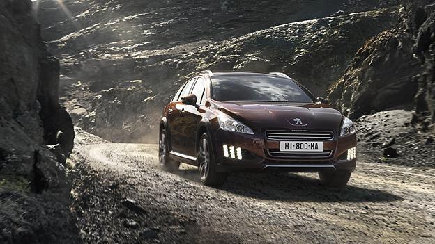 Peugeot 508RXH Exterieur Dynamisch Front
