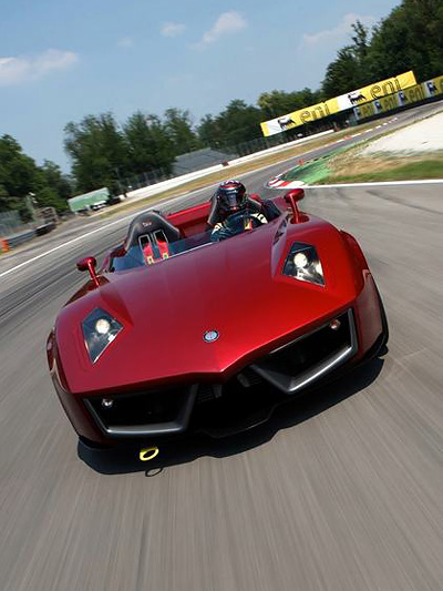 Spada Codatronca Monza Front dynamisch Exterieur