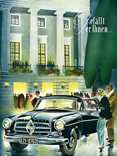 1954 Das Jahr Borgward Zeitmaschine Zeitreise Borgward Isabella