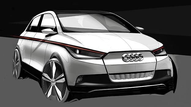 Audi A2 Konzept Exterieur Front