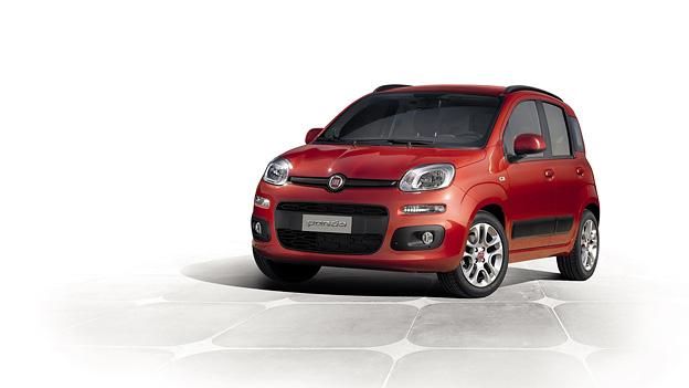 Fiat Panda neu 3 2011 Exterieur Statisch Front