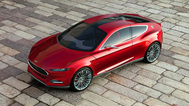 Ford Evos Concept Exterieur Front Seite
