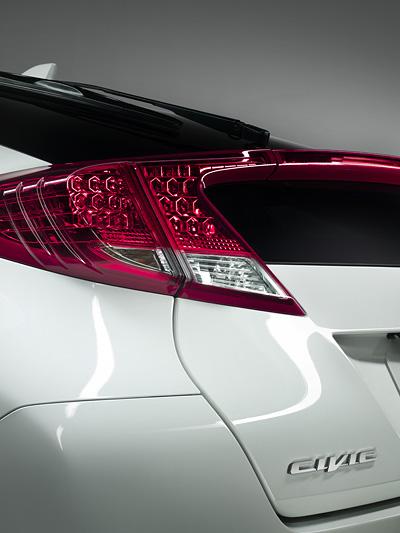 Honda Civic Exterieur Heck Statisch IAA Frankfurt