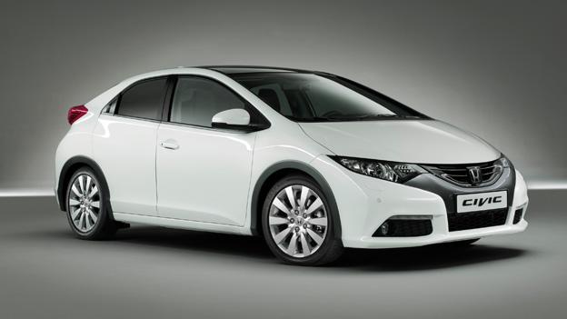 Honda Civic Exterieur Front Seite Statisch IAA Frankfurt