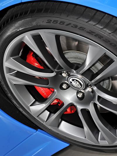 Jaguar XKR-S Exterieur Detail Felge Bremse