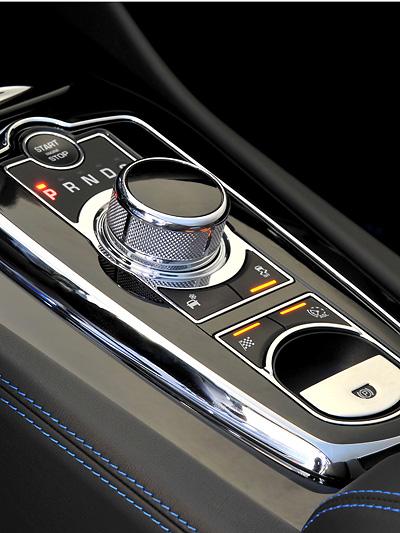 Jaguar XKR-S Interieur