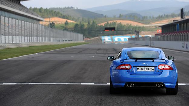 Jaguar XKR-S Exterieur Statisch Heck