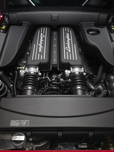 Lamborghini Gallardo LP 570-4 Super Trofeo Stradale Exterieur Motor
