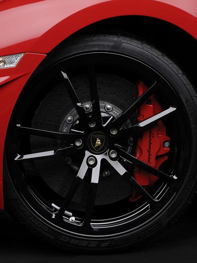 Lamborghini Gallardo LP 570-4 Super Trofeo Stradale Exterieur Felgen