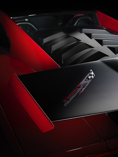 Lamborghini Gallardo LP 570-4 Super Trofeo Stradale IAA Exterieur Motor Spoiler