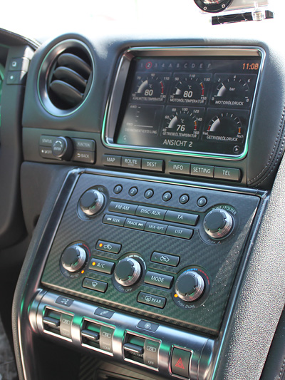 Nissan GTR Interieur