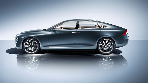 Volvo Concept You Frankfurt IAA Exterieur Statisch Seite