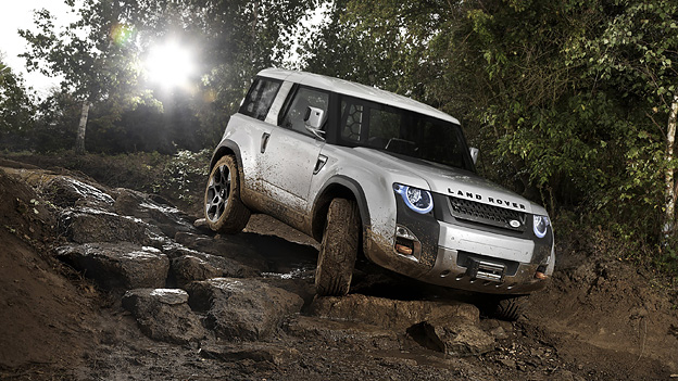 Land Rover Defender DC 100