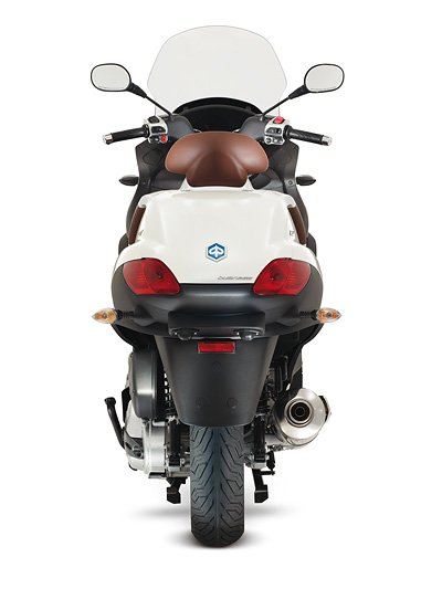 Piaggio MP3 500ie Touring Exterieur Statisch Heck
