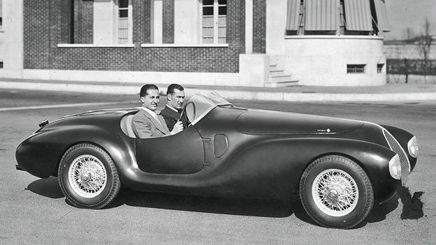 AAC Tipo 815 Zeitmaschine 1940 Zeitgenossen BMW 328