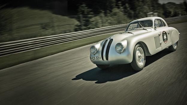 Zeitreise Zeitmaschine BMW 328 1949
