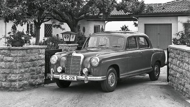 1957 Das Jahr Zeitreise Zeitmaschine Mercedes-Benz 220S Leopold Figl