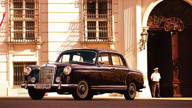 1957 Zeitmaschine Mercedes-Benz 220S Leopold Figl