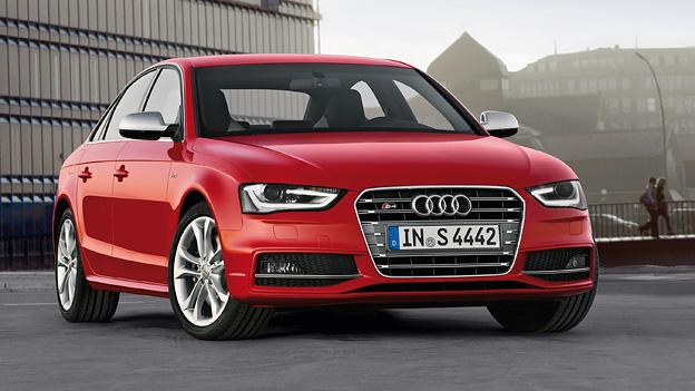 Audi A4 S4 Exterieur Statisch Front