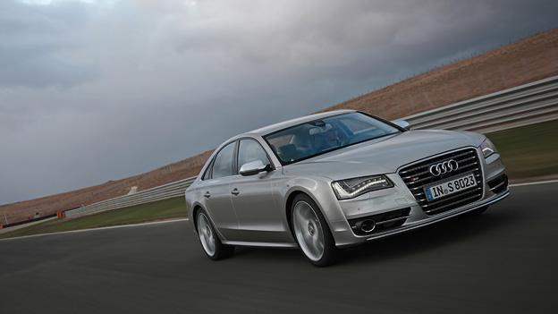 Audi S8 Exterieur Dynamisch Front