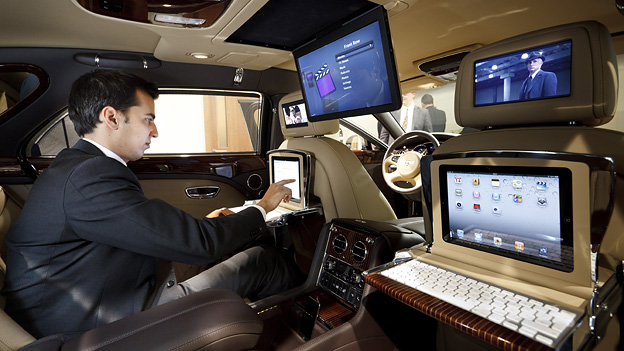 Bentley Mulsanne Interieur