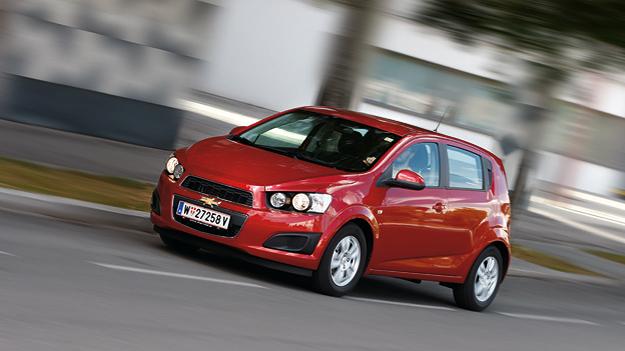 Chevrolet Aveo Exterieur Front Seite dynamisch