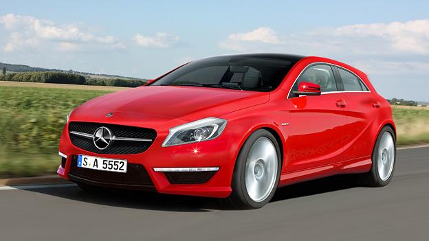Mercedes-Benz A-Klasse AMG a25 Schulte Exterieur Dynamisch Front