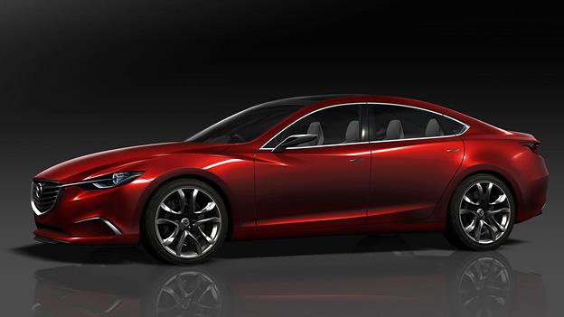 Mazda 6 Exterieur Statisch Seite Front Takeri