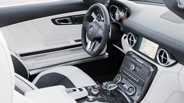 Mercedes-Benz SLS AMG Roadster Interieur