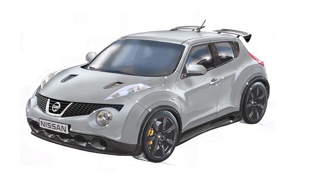 Nissan Juke-R GT-R Exterieur Front Seite
